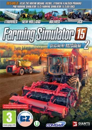 PC Farming Simulator 15 - Oficiální rozšíření 2; 8592720122497