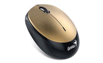 Genius NX-9000BT myš, bluetooth 4.0, 1200dpi, USB, zlatá, dobíjecí baterie