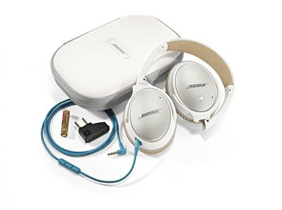 BOSE QuietComfort® 25 Samsung Galaxy bílá - sluchátka; B 715053-0120