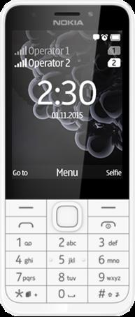 Nokia 230 Dual SIM, stříbrný; A00026951