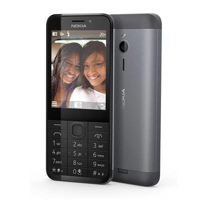 Nokia 230 Dual SIM tmavě stříbrný ; A00026952