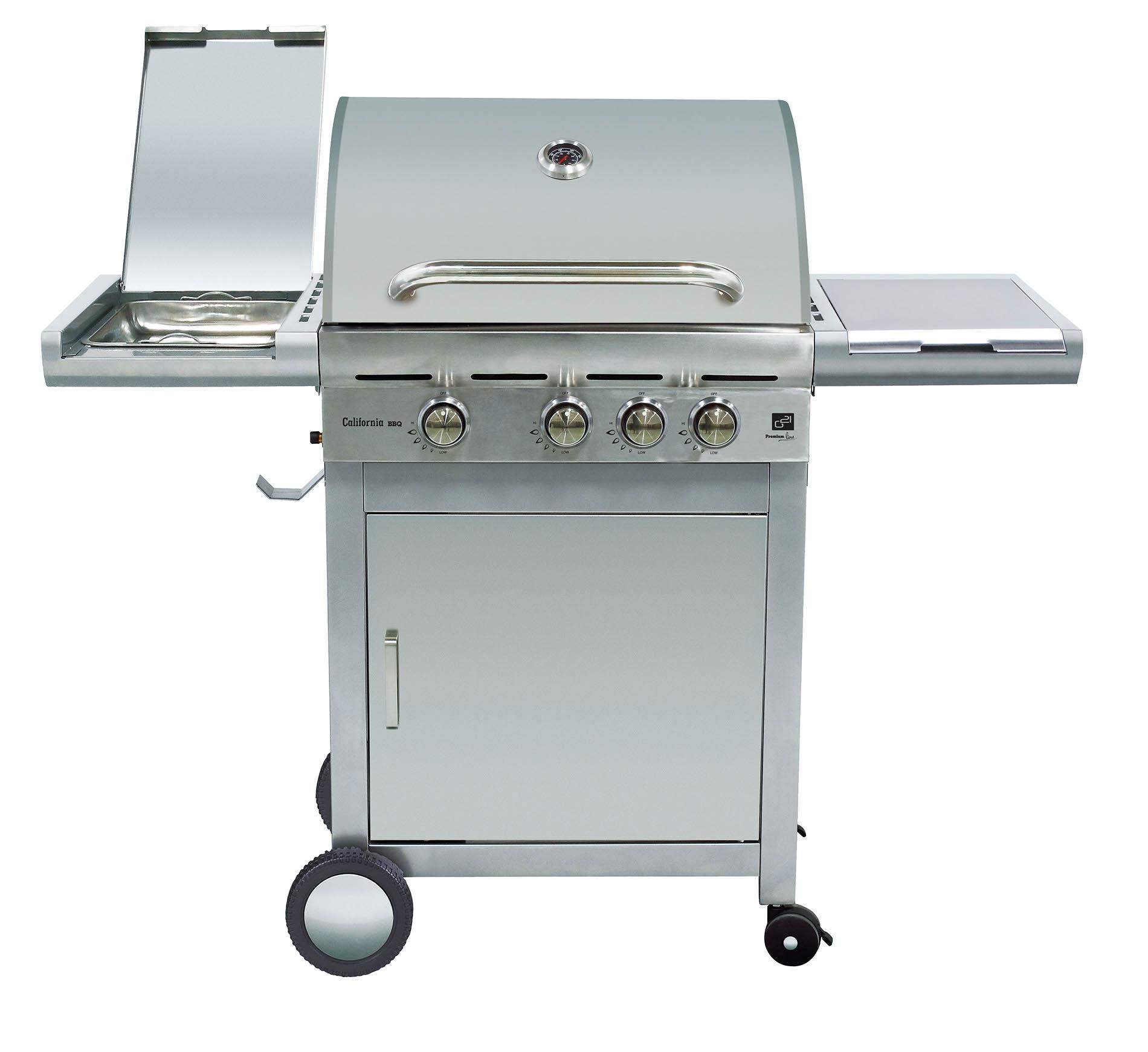 Plynový gril G21 California BBQ Premium Line 4 hořáky + zdarma redukční ventil; 6390305