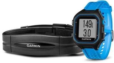 Garmin Forerunner 25 HR Black/Blue (vel. XL); 010-01353-51