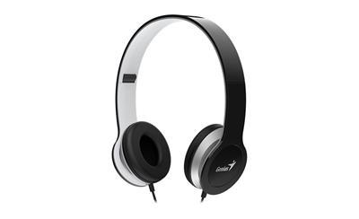 GENIUS HS-M430, sluchátka s mikrofonem, černá ; 31710197100