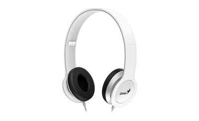 GENIUS HS-M430, sluchátka s mikrofonem, bílá