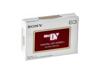 Sony DVM63HDV; DVM63HDV