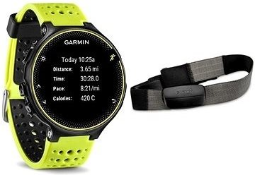 Garmin Forerunner 230 Yellow HR Premium; 010-03717-53