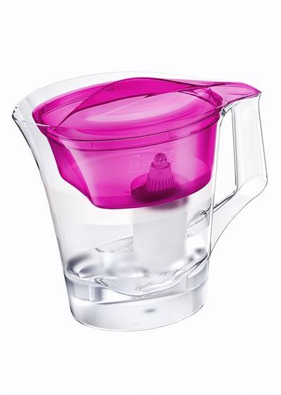 BARRIER Twist filtrační konvice na vodu, fialová; 47001000