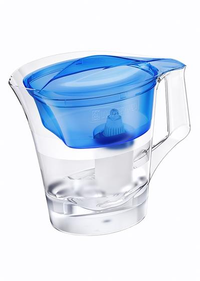 BARRIER Twist filtrační konvice na vodu, tmavě modrá
