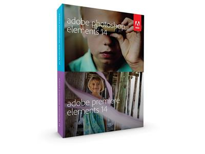 Adobe Photoshop & Premiere Elements v14 WIN/CZ; 65263962