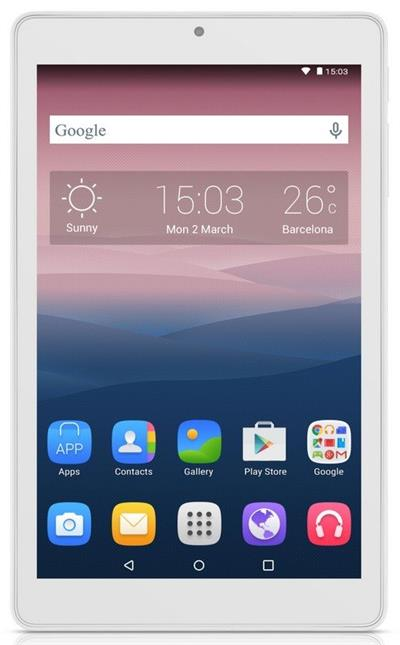 Alcatel OneTouch PIXI 8 WiFi , White
