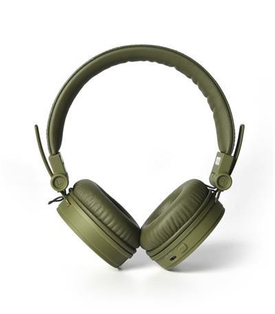 FRESH ´N REBEL Caps Bluetooth sluchátka, vojenská zelená