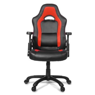 AROZZI herní židle MUGELL, černočervená; NBTARO0015