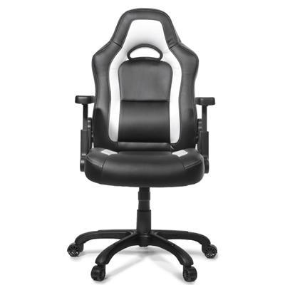 AROZZI herní židle MUGELLO, černobílá; NBTARO0016