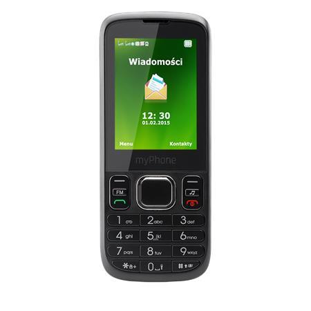myPhone 6300 ČERNÝ