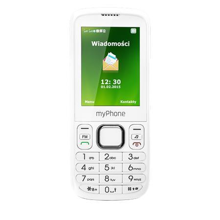 myPhone 6300 BÍLÝ