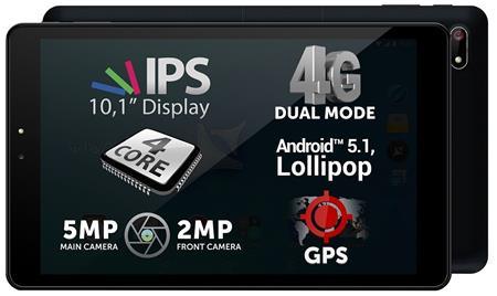 ALLVIEW TABLET VIVA H1001 LTE ČERNÝ, OS Android; TABAVVIH1001LBK