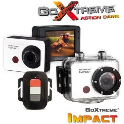 Odolná digitální kamera EasyPix GoXtreme Impact, Full HD Action 1080p, bílá, vodotěsná