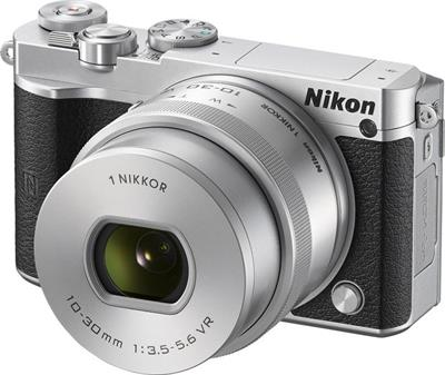 Nikon 1 J5 - zrcadlovka, fotoaparát + 10-30 mm (VVA242K001)