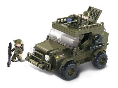 SLUBAN Armádní jeep; M38-B0299
