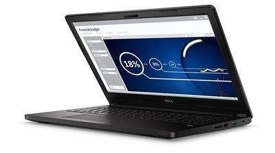 "DELL Latitude 3570 / i3-6100U / 4GB / 500GB 7200 ot. / Intel HD / 15,6"" HD / Win7 Pro+Win 10 Pro 64bit / Black; 3570-7934"