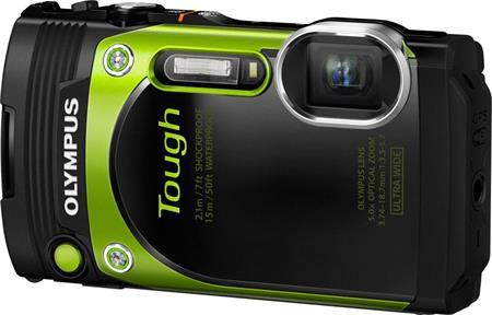 Olympus TG-870 zelený; V104200EE000