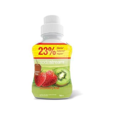 SodaStream sirup Green IceTea kiwi jahoda 750 ml; 42001172
