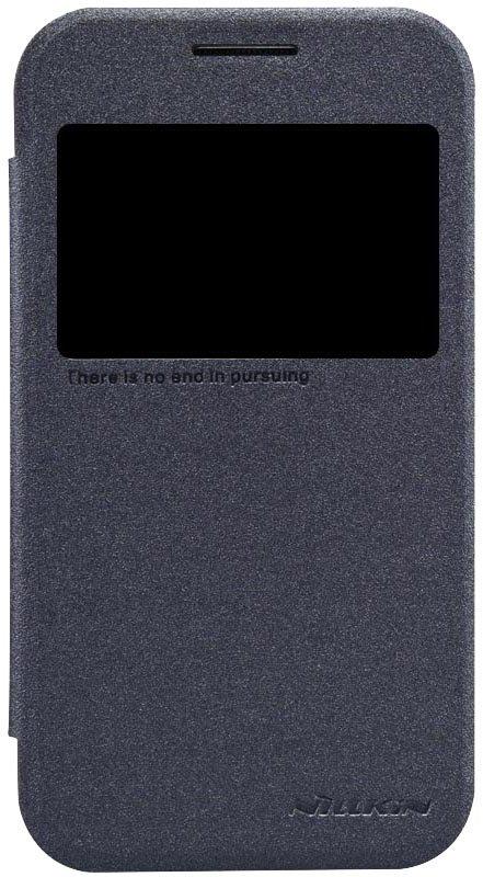 Nillkin Sparkle S-View Pouzdro Black pro Samsung G360 Galaxy Core Prime