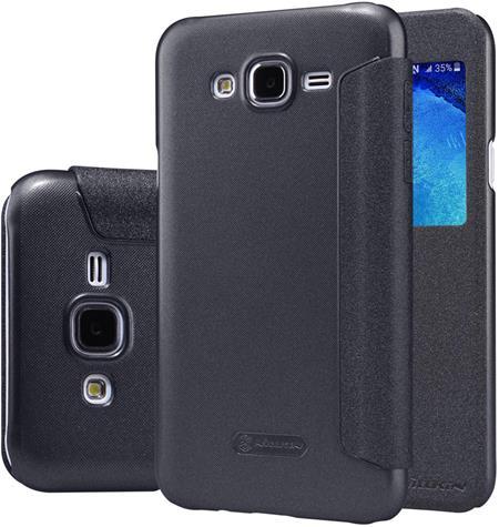Nillkin Sparkle S-View Pouzdro Black pro Samsung J500 Galaxy J5; 8592118840750