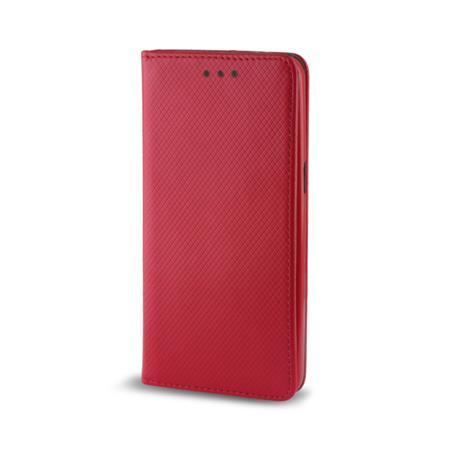 Pouzdro s magnetem Samsung J1 2016 (J120) red