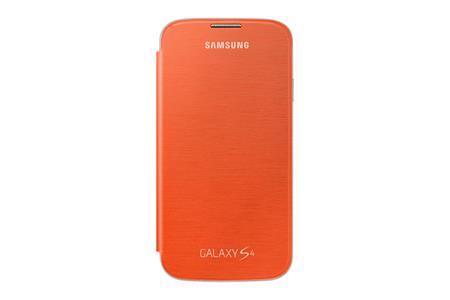 Samsung flipové pouzdro EF-FI950BO pro S4, Orange