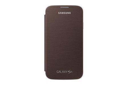 Samsung flipové pouzdro EF-FI950BA pro S4, Brown