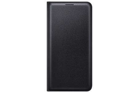 Samsung flip. pouzdro s kapsou pro Galaxy J5 2016,Black; EF-WJ510PBEGWW