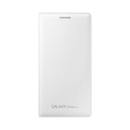 Samsung flipové pouzdro s kapsou EF-WG530B pro Samsung Galaxy Grand Prime (SM-G530), bílá; EF-WG530BWEGWW