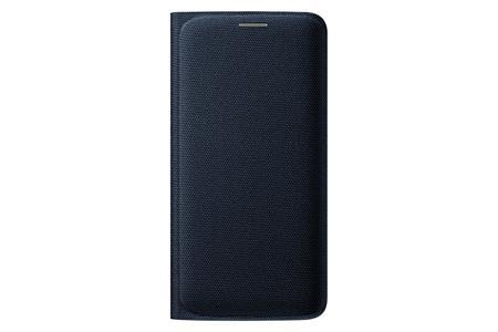 Samsung flipové pouzdro s kapsou EF-WG925B pro Samsung Galaxy S6 Edge (SM-G925F), černá