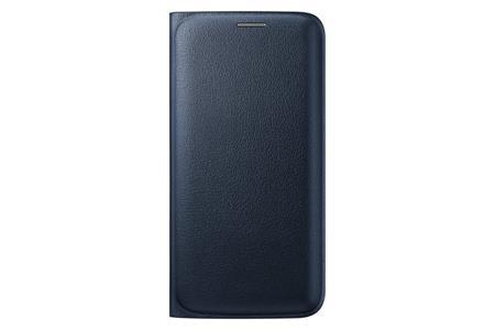 Samsung flipové pouzdro s kapsou EF-WG925P pro Samsung Galaxy S6 Edge (SM-G925F), černá; EF-WG925PBEGWW