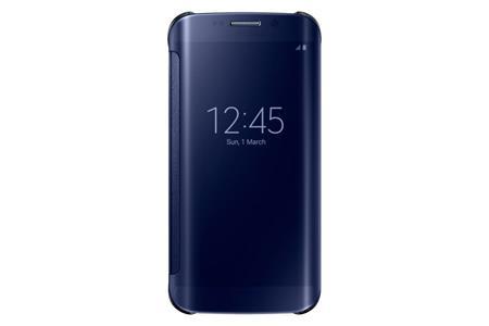 Samsung flipové pouzdro Clear View EF-ZG925B pro Samsung Galaxy S6 Edge (SM-G925F), černá; EF-ZG925BBEGWW