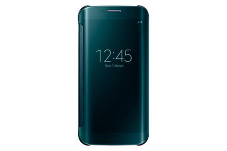 Samsung flipové pouzdro Clear View EF-ZG925B pro Samsung Galaxy S6 Edge (SM-G925F), Zelená; EF-ZG925BGEGWW