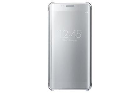 Samsung Flipové pouzdro Clear View S6 Edge+ Silver