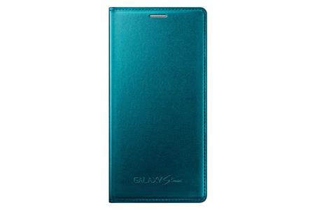Samsung flip. pouzdro pro S5 mini (SM-G800),Zelená