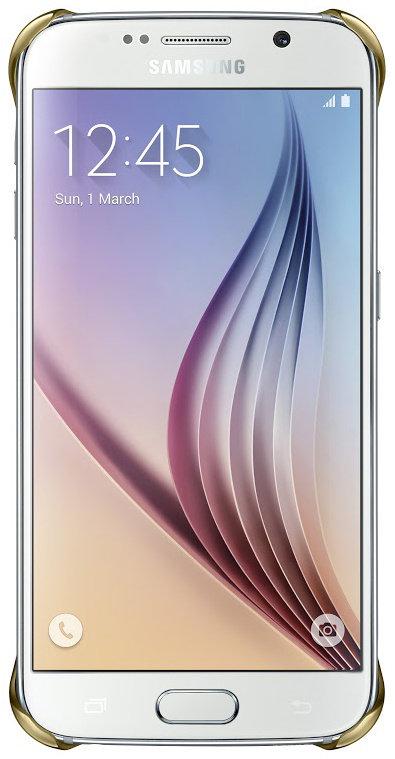 Samsung ochranný kryt EF-QG920B pro Samsung Galaxy S6 (SM-G920F), zlatá; EF-QG920BFEGWW