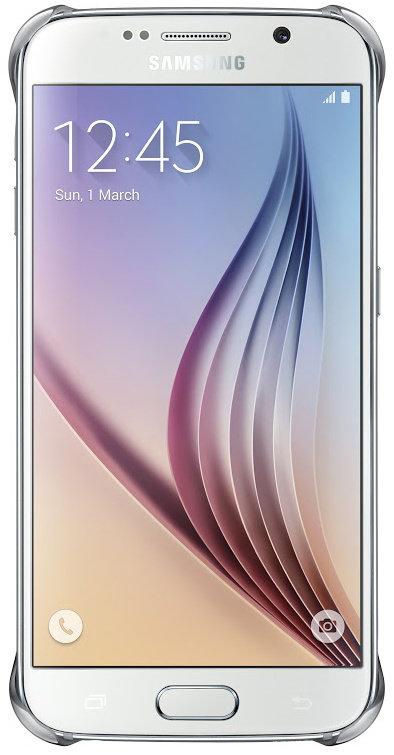 Samsung ochranný kryt EF-QG920B pro Samsung Galaxy S6 (SM-G920F), Stříbrná; EF-QG920BSEGWW