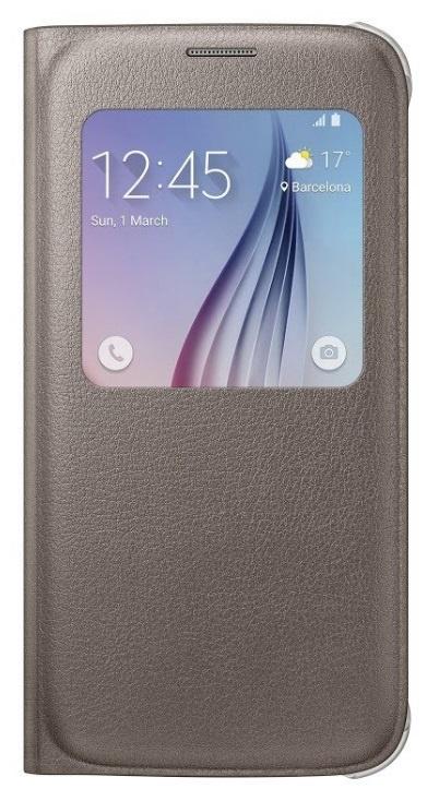Pouzdro Samsung EF-CG920PF, zlaté; EF-CG920PFEGWW