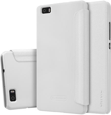 Nillkin Sparkle Folio Pouzdro White pro Huawei P8 Lite