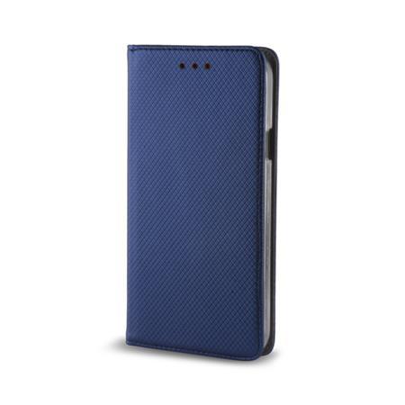Pouzdro s magnetem ZTE BLADE A452 dark blue