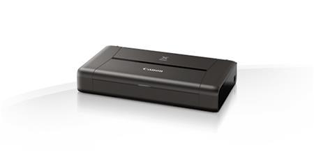 Canon PIXMA iP110 - inkoustová tiskárna přenosná, A4, USB + baterie; 9596B029