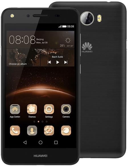 "HUAWEI Y5 II Black 8GB - Smartphone, 4.5"" TN, procesor Qualcomm Snapdragon 210 Quad core 1.1 GHz, RAM 1 GB, paměť 8 GB, fo; SP-Y5IIDSBOM"