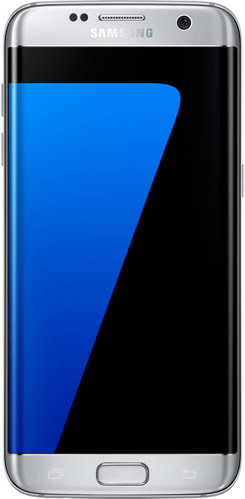Samsung Galaxy S7 Edge Silver (G935); SM-G935FZSAETL