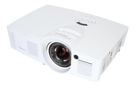 Optoma projektor GT1080e short throw (DLP, FULL 3D 1080p, 3 000 ANSI, 25 000:1, 2x HDMI, MHL, 10W speaker) ; 95.8ZF01GC2E