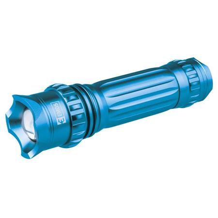 LED svítilna kovová s fokusem, 3W CREE LED, na 3xAAA